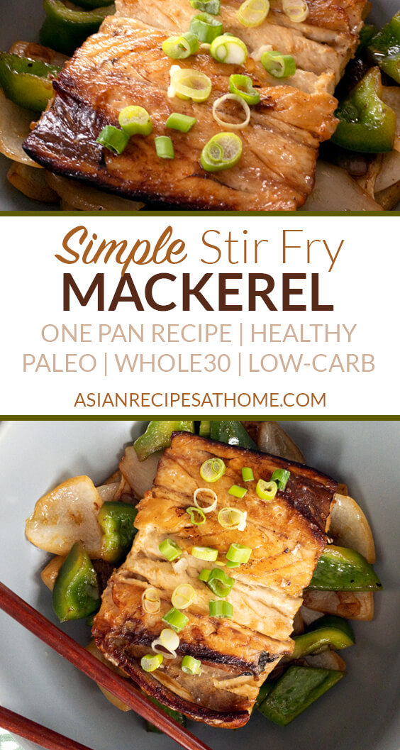 This Mackerel dish is a really easy pan-fried recipe that happens to be Paleo, Whole30, and low carb.