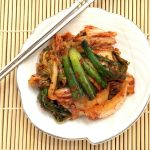 This is a very easy and quick (mak) napa cabbage Korean kimchi recipe that is spicy, delicious, healthy that can be eaten fresh or left to ferment.
