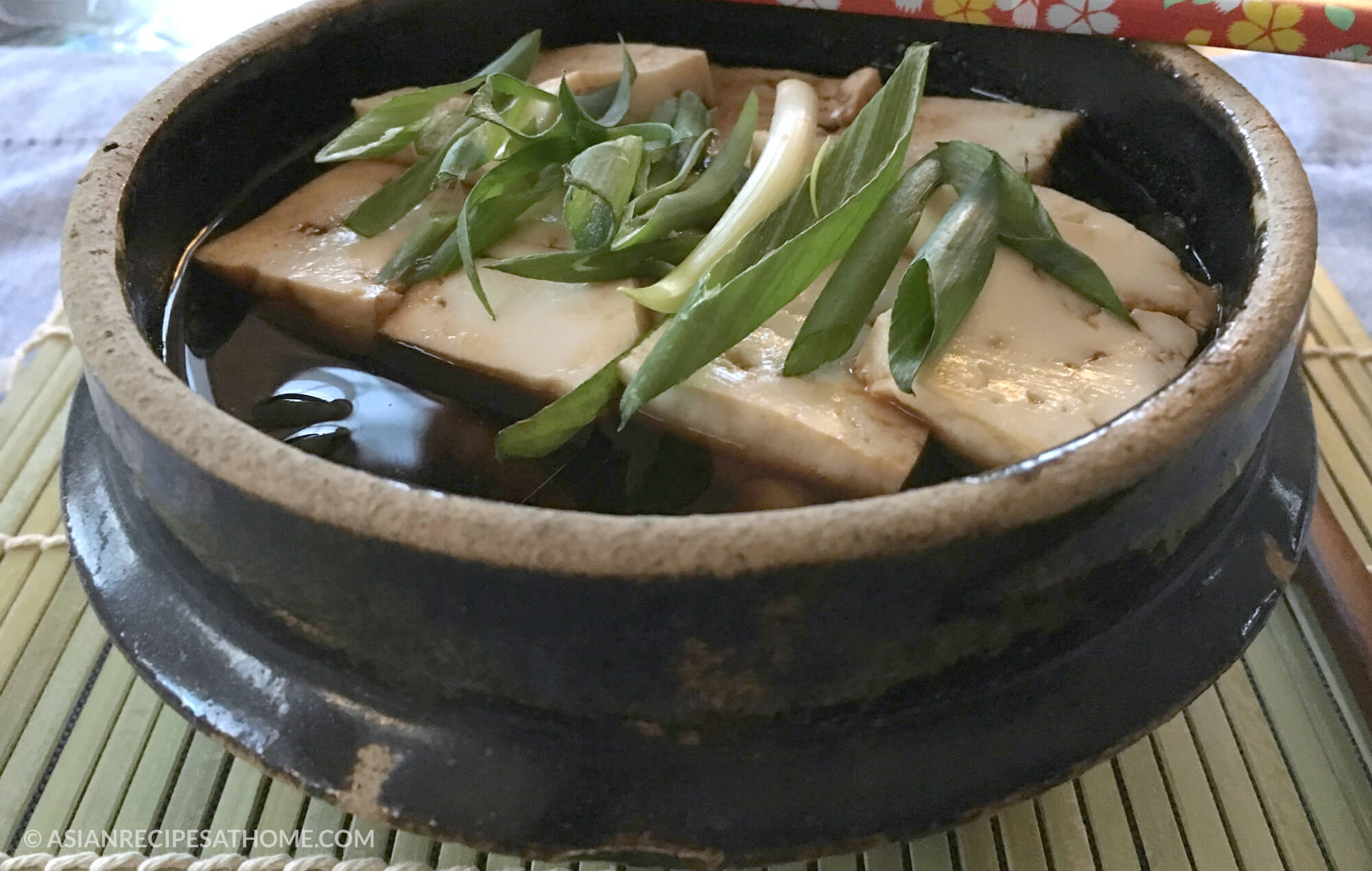 This Korean Green Onion Soybean Paste (Doenjang) Soup is easy to make, healthy, delicious and a filling recipe.