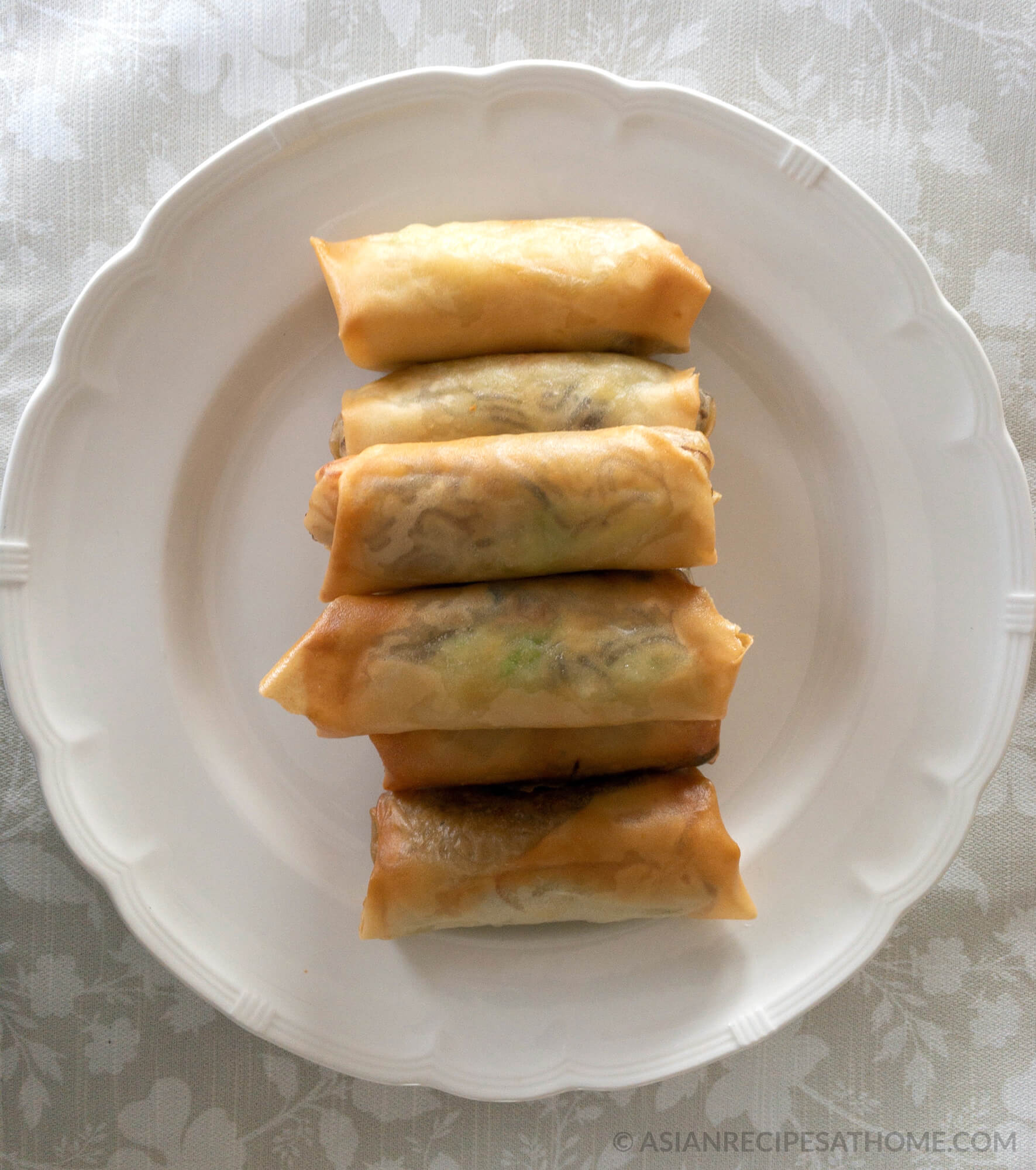 Crunchy Fried Spring Rolls Asian Recipes At Home