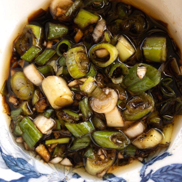 Sesame Green Onion (Scallion) Sauce