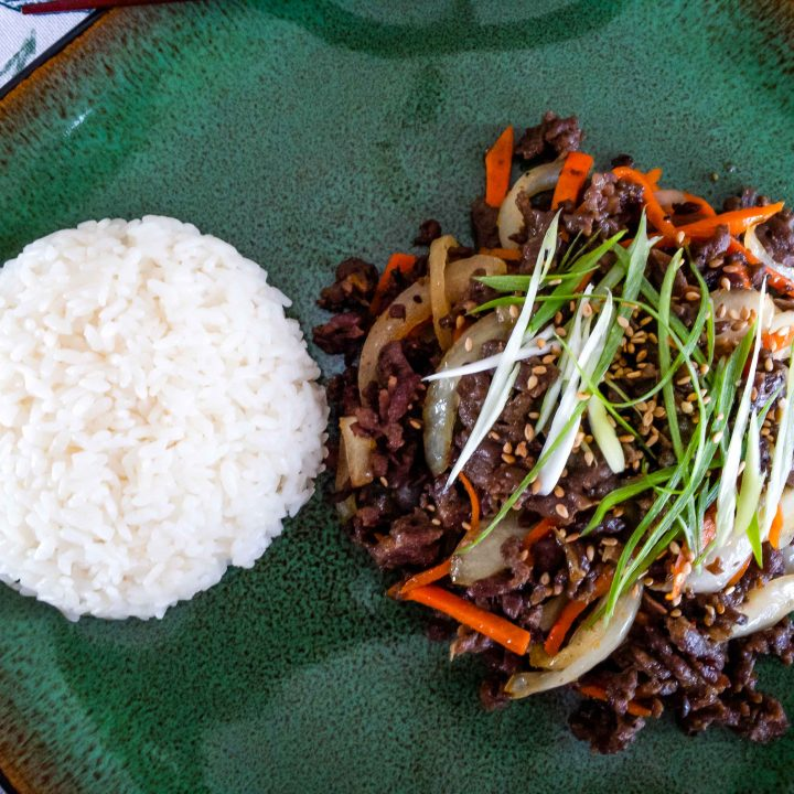 Best and Easiest Beef Bulgogi