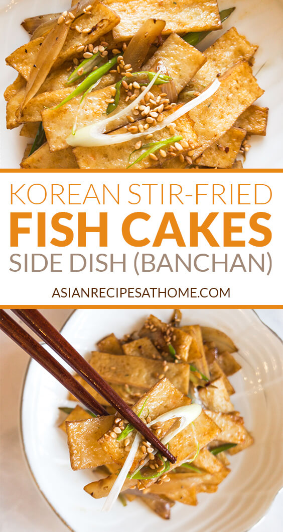 Korean Stir Fried Fish Cake Eomuk Bokkeum Or Odeng Bokkeum Asian Recipes At Home