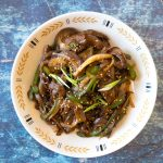 Make our Korean spicy stir-fried eggplant side dish recipe to go with your next meal. This side dish (banchan) is spicy, healthy, and a new spin on how you can prepare eggplants.