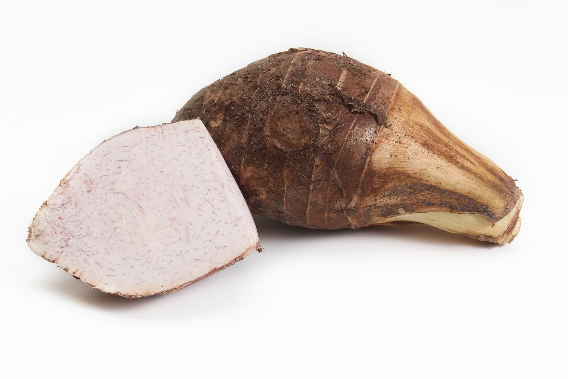 Raw Taro
