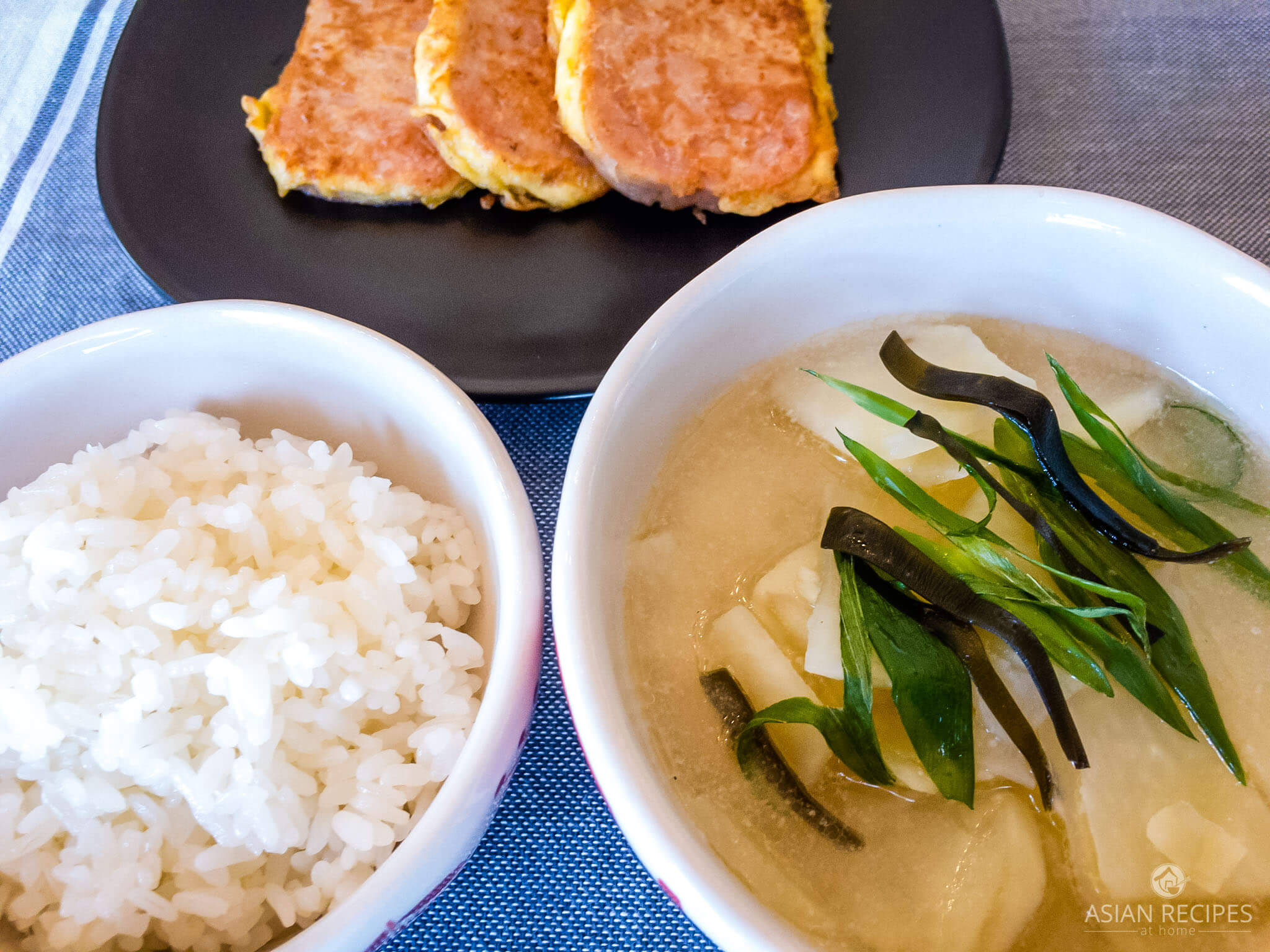 This Korean potato soup (gamjaguk) is mild and full of umami flavor. It has a delicious, clear broth, with bite-sized potato pieces.