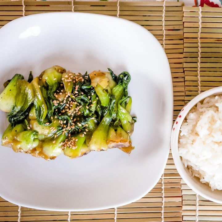 Make our simple stir-fried bok choy when you need a quick and easy side dish vegetable recipe.