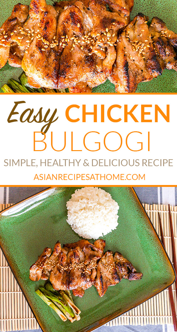 Our Korean-style chicken bulgogi is an easy, simple and delicious recipe that the whole family will love.