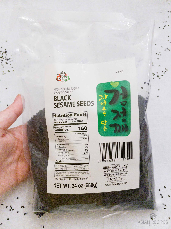 Korean black sesame seeds