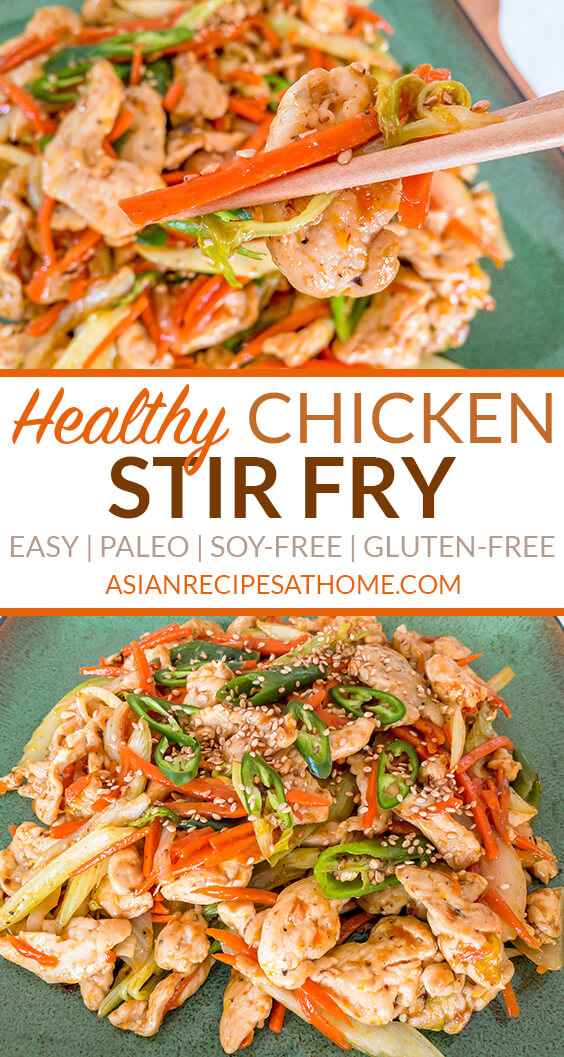 Our chicken stir fry is so easy to make and a tasty meal you can have ready in no time. It is loaded with chicken breast and fresh vegetables.